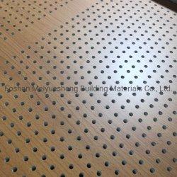 Мико 0,5 мм диаметра перфорированные деревянные бамбуковые шпона акустическую доказательства системной платы