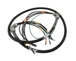 4-контактный разъем PWM вентилятор продление экранирующая оплетка кабеля для ЦП компьютера жгут проводов кабеля
