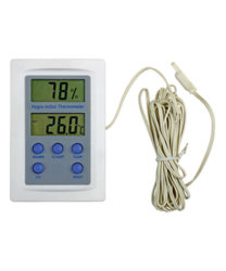 Digital-Thermometer u. Hygrometer
