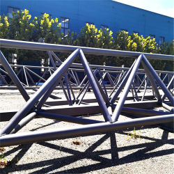 Рамы оцинкованных сегменте панельного домостроения большое Span ЧПУ автоматический стальной опорной для тяжелого режима работы для крыши