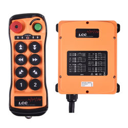O LCC Q808 Rádio Industrial Controle Remoto para gruas de construção
