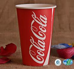 Les tasses de papier jetable pour des boissons froides / eau pétillante /// Soda Cola de jus d'eau de la limonade/ Cidre/