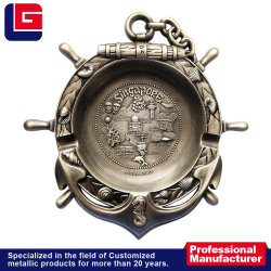 Сувенирные сувениры ручной работы творческой металлические пепельницы