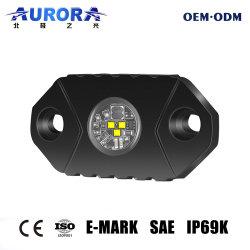 """LED de 2"""" de las luces de roca 9-24V IP69K Mini luz LED de trabajo para el camión todoterreno de la luz de Rock"""