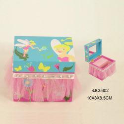 Fr71 Boîte à musique de bijoux en bois standard pour les enfants
