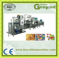 Usine de production de bonbons entièrement automatique