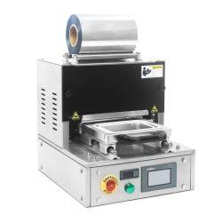 الساندويتشات صينية التعبئة آلة غداء تلقائي صندوق الوجبات السريعة خريطة مانع تسرب حرارة الماكينة