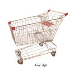 Winkel Supermarkt Folding Shopping Trolley