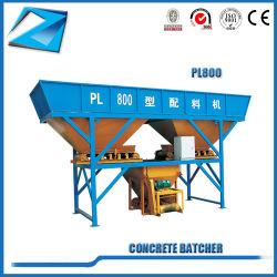 Pl800 Serie Batcher für konkrete stapelweise verarbeitende Maschinen-Ziegelstein-Maschinen-Bedingung