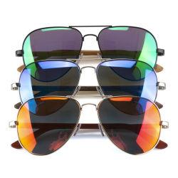 Logo personnalisé Designer de lunettes de soleil polarisées bambou