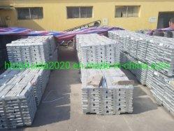 China lingote de Zinc puro para la mejor relación precio / Chatarra de cinc al 99,995%