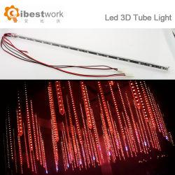 DMX многоцветный светодиодный индикатор длинной трубы 3D ночное освещение бар