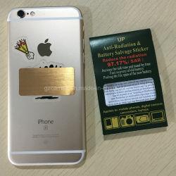 Golden Anti-Radiation Metal autocolante móvel evitar ionizantes