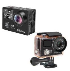 액션 카메라 4K Ultra HD 1080p 60fps(WiFi PRO 포함 방수 미니 자전거 비디오 카메라 고 스포츠 카메라 오리지널 K8r