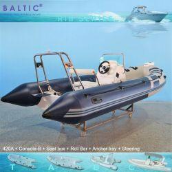Werk vissen nieuwe opgeblazen Dinghie Sport Rubber Motor Boat 470