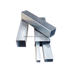 Kohlenstoffarmer Stahl Q195 heißes BAD galvanisiertes beschichtendes quadratisches rechteckiges Stahlrohr der Gefäß-Frau-Gi Hollow Section
