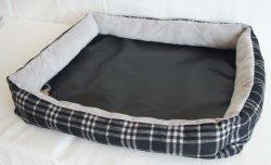 Lits pour chiens doux chaleureux chaise longue en molleton sofa pour les petits chiens