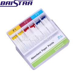 Root Endodontia F1-F3 papel absorvente Pontos para uso odontológico