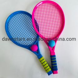 Conjunto de raquete de ténis infantil de plástico exterior certificado