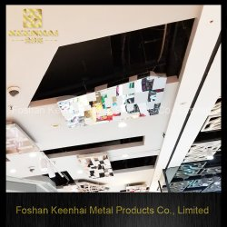 절묘한 디자인 스테인리스 장식적인 중단된 천장 (KH-MC-M4)