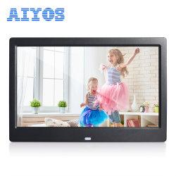 إطار الصور الرقمية لمشغل USB بشاشة عرض مقاس 10 بوصات مع إطار ضيق