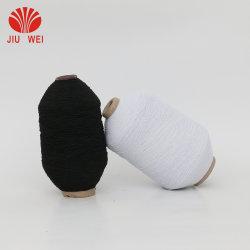90#/100 cubiertos de hilados hilados de goma elástica para calcetines