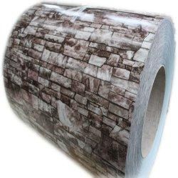 Ral 9002 Dx51d Material 0.4*1250 Material de construcción de paneles sándwich PPGI duradera multiuso Prepainted bobinas de acero galvanizado