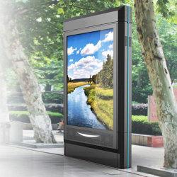 """55 """" Openlucht LEIDENE het Digitale Signage van de Reclame LCD van Kiosken Scherm van de Reclame voor Benzinestation"""