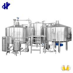 1000L 2000L 3000L 5000L 10hl 15hl 20hl 30hl 50hl 2 navire Commercial Industriel fabricant de machine de la bière en acier inoxydable micro brasserie de bière/Préparation de l'équipement