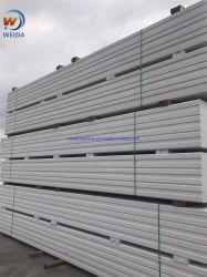 مواد بناء عالية الجودة AAC/ALC الجدار والسقف السعر أدرج مواد البناء الخفيفة الوزن للوحة الحائط الخارجية