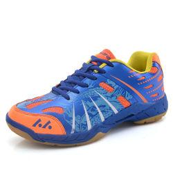 Greenshoe China Fornecedor Barato Piscina Badminton calçados para homens forro respirável Sapatas de badminton Man