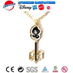 Nouvelle Mode chaîne en or Collier avec pendentif clé Clourse Homard
