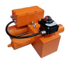AC440V/380V/220V dubbelwerkende Roterende Elektrische Hydraulische Actuator
