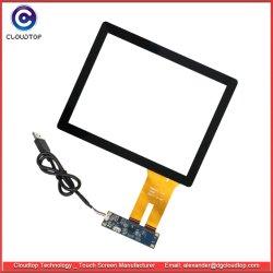 習慣容量性タッチ画面CT-C8188のための8インチの保護ガラス