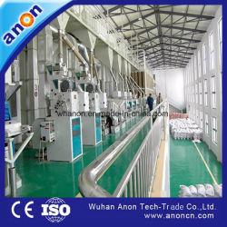 Помощью контроллеров полный набор продуктов для уборки риса рис обработки машины 120 Tpd механизма обработки зерна