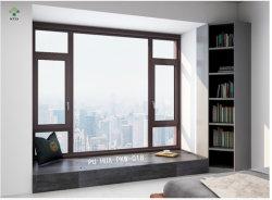 Deur van het Openslaand raam van de Vensters As2047 van het Profiel van de Onderbreking van het aluminium de Thermische Rendabele Dubbele Verglaasde Afbaardende Australische Standaard Glijdende
