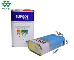 4L lata vacía tin box para aceite de motor o la pintura de coche