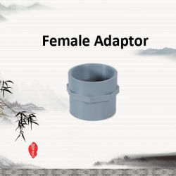 PVC vis femelle/Filetage conjointement avec la norme DIN