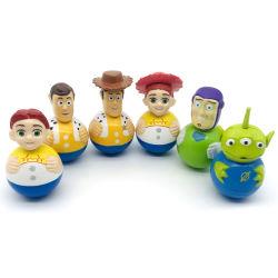 Los niños les encanta personalizar Anime Dibujos animados 3D de plástico de PVC de carácter agrícola Tumbleraction figura