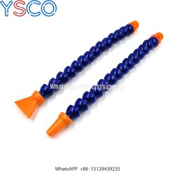 Boquilla redonda flexible de plástico Ys el agua del tubo de refrigeración de aceite