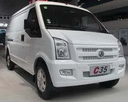 Bem-estar Dongfeng Mini Auto C35 Veículo Logística