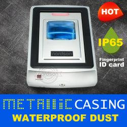 Wasserdichte Metall-Identifikation-Karten-unabhängiger biometrischer Chipkarte-Leser des Staub-IP65 Wiegand für einzelne Tür