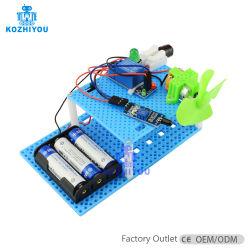 Crianças decorrem da ciência de bricolage de vapor de brinquedos educativos do Extintor de Incêndio Inteligente Ciência Toy Dom para crianças