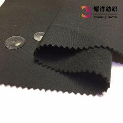 屋外のジャケットのための柔らかいシェルファブリックか防水Softshellのジャケットファブリックは通気性の3つの層薄板にされた羊毛ファブリックを防水する