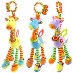 Girafe Hochet anneau Modèle Animal poupée Bell Crib poussette jouet suspendus