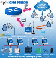 Протокол Modbus RTU для Mqtt преобразователь протоколов RTU шлюз SMS GSM 3G/4G Lte TCP Modbus RTU Master 2 RS485 поддерживают протокол Modbus RTU для Mqtt преобразователь протоколов S174
