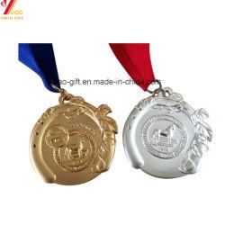 Médailles de métal de haute qualité personnalisée avec Ruban (YB-LY-C-23)