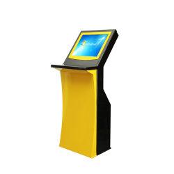 L'information multimédia kiosque à écran tactile