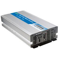 2 كيلوفولت أمبير خارج الشبكة 48 فولت إلى 110 فولت/220 فولت تيار متردد حقيقي لموجة جيبية