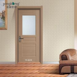 De waterdichte WPC Houten Deur van de Deur PVC/ABS/Glass